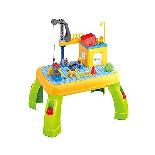 Home Multifunktionaler Bautisch Kinderspielzeugtisch Puzzle-Bautisch zusammenbauen