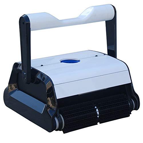 Robot Aspirador eléctrico Clean Pool para Piscinas 4 x 8 m, 2 Motores de Fondo y Pared