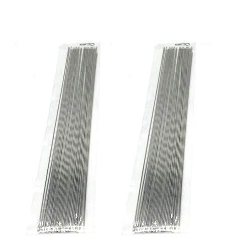 Mingchen Bead Needle Long Beaded Needle Bracelet Ultra-Fine Beaded Needle Slender Needle for Bracelet Necklace 120mm80 Pieces