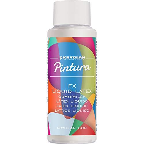 Kryolan Pintura FX Liquid Latex Latexmilch, 30 ml - ideal für Party, Karneval, Fasching, Halloween, LARP & Make-up Artists