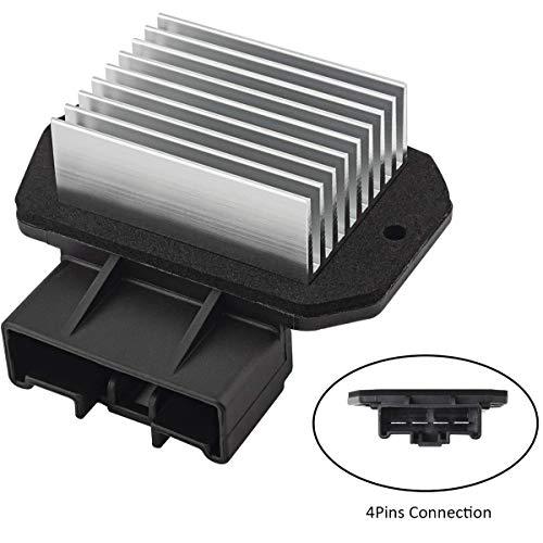 Car HVAC Blower Fan Motor Resistor 87165-131010 Compatible with 4Runner Camry Solara ES300 ES330 GX470 RX330 RX350 RX400h Scion tC