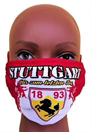 Stuttgart Maske 2.0, Vermummungsmaske, Stuttgart Community Maske, Stuttgart Fußballmaske, Alltagsmaske, Stuttgart Gesichtsmaske