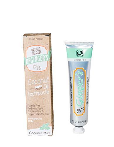 Dr. Gingers - Menta de coco con pasta de dientes de aceite d