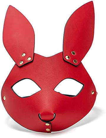 fetME Sexy Soft Vegan Daily bargain sale Leather Burle Mask Costume 4 years warranty Halloween Face