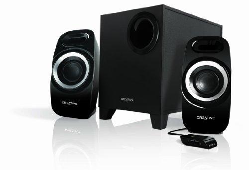 Creative Labs Inspire T3300 Conjunto de Altavoces 2.1 Canales 27 W Negro...
