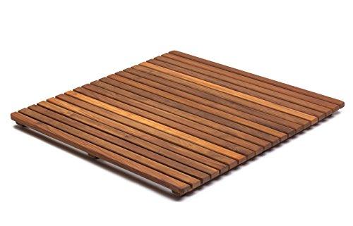 AsinoX TEK4A7171 - Tarima de ducha y baño, 71 cm, color natural ⭐