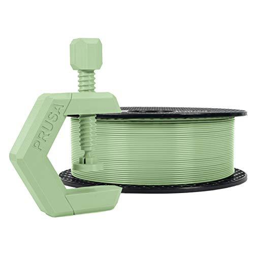 Prusament Pistachio Green, PETG Filament 1.75mm 1kg Spool (2.2 lbs), Diameter Tolerance +/- 0.02mm