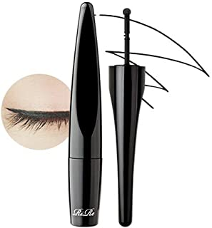 [RiRe] Roller Quick Eyeliner 2ml//easy washable, waterproof eyeliner, smudge proof (01 Deep Black)