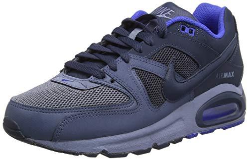 Nike Air Max Command, Chaussures de Gymnastique Homme, Gris (Ashen Slate/Thunder Blue/Diffused Blue/Racer Blue 407), 40.5 EU
