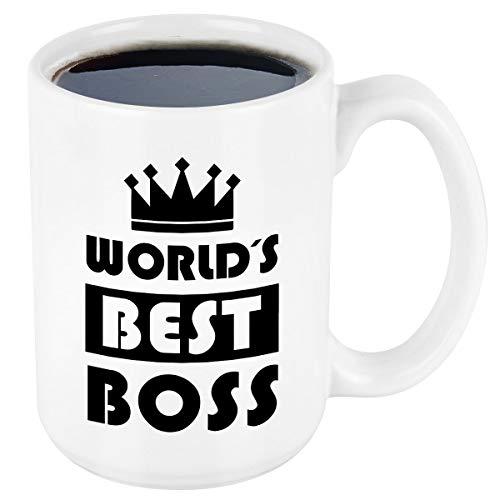 Worlds Best Boss Mug Boss Day Mugs Office Coffee Mug Boss Gifts for Men...