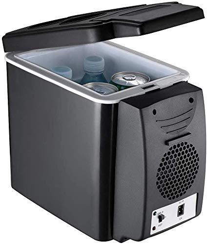 Mini 6 L Boisson Réfrigérateur et Glacière Mini Frigo pour Un Soda Bière ou du vin Boisson Distributeur Machine pour Bureau Un Camion Dortoir Camping Réfrigérateur,12v Car+220v Home