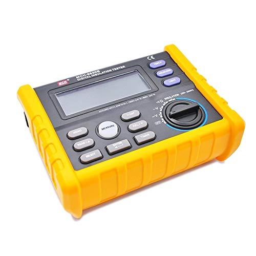 SymArt Automotriz Probador de Resistencia de Aislamiento 1000V Digital Megohmmeter High Voltage Electronic Tramegger Store Function 9850 o Tira de la cámara CCTV LED
