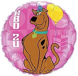 Party 18 Inch Scooby Doo HBD2U Birthday Mylar Balloon