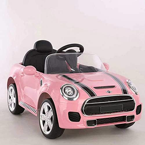 PEKECARS Coche eléctrico Mini Style 12V 2.4G Rosa