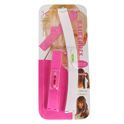 Vtrem Haarspange Scherer Trimmer Verdünnung Hairstyling Salon Schneidwerkzeuge Kit DIY Hair Styling Ruler