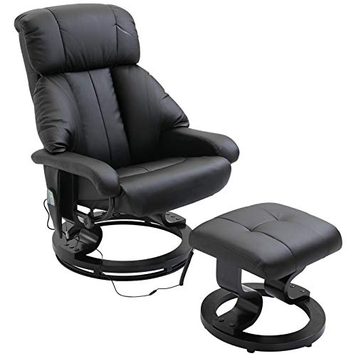 Homcom Luxury Faux Leather Massage Chair