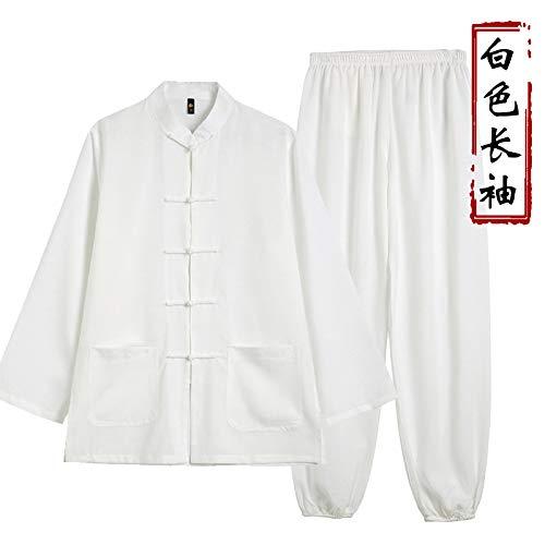 NOLLY Taiji Qigong Cinese Panni da Allenamento Abbigliamento Abbigliamento Pantaloni Arti Marziali Wing Chun Shaolin Kung Fu Taekwondo,B-XL