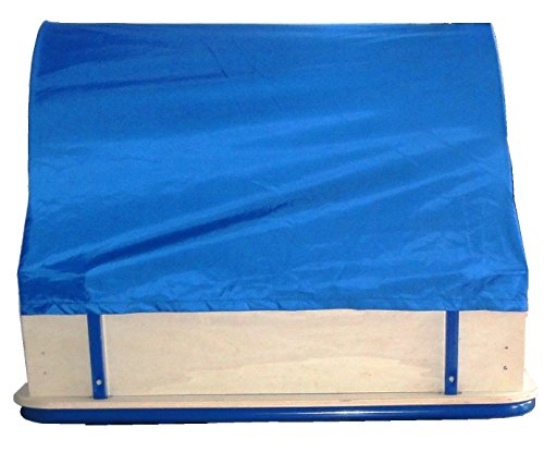 rosilino Bollerwagenplane blau, wasserdicht mit UV-Schutz, inkl. Gestell