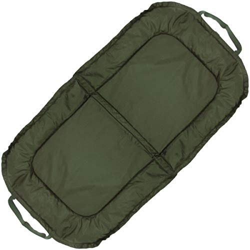 NGT CARP FISHING BEANIE UNHOOKING MAT WITH PEGGING POINTS LARGE PADDED LANDING MAT
