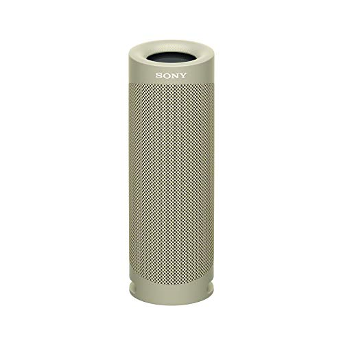 Sony SRS-XB23 EXTRA BASS Wireless Portable Speaker IP67 Waterproof BLUETOOTH 12 Hour Battery and Built In Mic for Phone Calls, Taupe (SRSXB23/C)