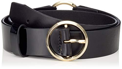 Liebeskind Damen Belt09F9 VaVenu Gürtel, Schwarz (Black 9999), 90