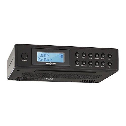 oneConcept KR-120 • radio da cucina • DAB +