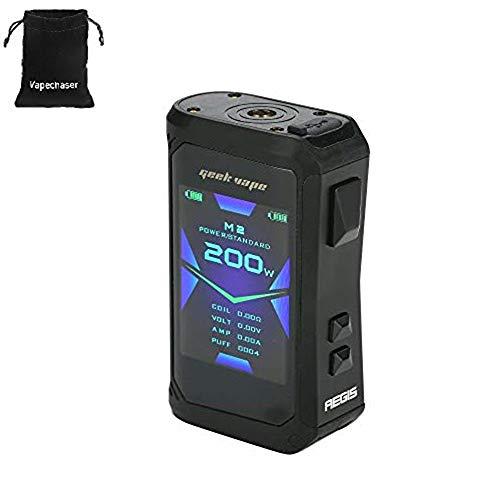 Sigaretta elettronica Geekvape Aegis X 200W TC Mod con schermo OLED da 2,4 pollici e design impermeabile IP67 no batteria no nicotina (Stealth Black)