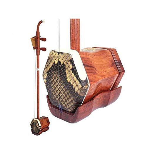 Erhu, Palisander Erhu, Anfänger Erhu spielen, spielen Shanghai nationalen Musikinstrumente (Größe: 82cm) HUERDAIIT (Size : 82cm)