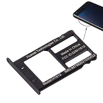 PhonSIM Card Replacement Parts SIM Card Tray for Google Nexus 6P Black   Color   Black