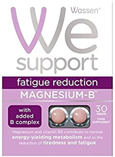 Wassen Magnesium & Vitamin B Complex 30 Tablets - 4 Pack