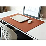 No Smell 29.5'x 17.7' with Full Lip Office Desk Pad Table Pad Blotter Protector Waterproof PU Surface Mouse Pad Desk Writing Mat