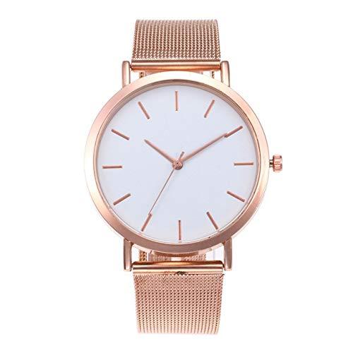 Women Wrist Watch Designer Simple Elegante Elegante Reloj Delgado Reloj de Lujo para Mujeres para Mujeres niñas (Negro) (Color : Rose)