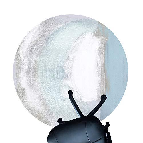 Alfombra De Alfombra Para Silla De Oficina, Silla Colchoneta Protector De La Colchoneta Para El Piso De La Oficina Del Piso De La Oficina, Alfombra De Pila Baja Antideslizant(Size:80cm/31.5in,Color:A)