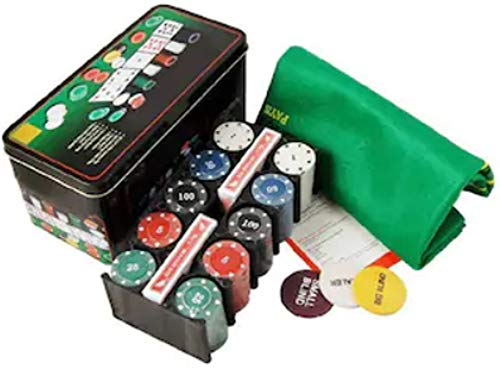 RIANZ Poker Set Casino Game - 200 Poker Chips