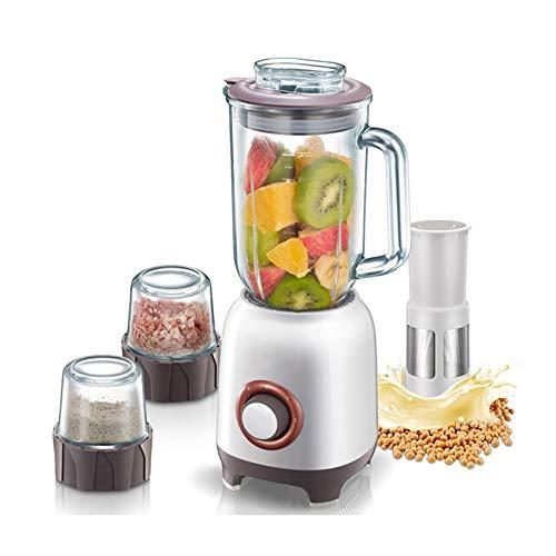 TEHWDE Standmixer Smoothie Maker leistungsstarker Standmixer 400W Blender Schleifer und EIS-Zerkleinerungsmaschine 30.000 U/min, 1.2L Behälter ohne BPA Ice Crush Funktion