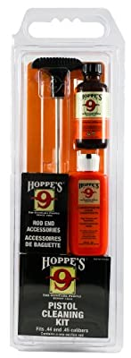 Hoppe's No. 9 Cleaning Kit with Aluminum Rod, .44/.45 Pistol