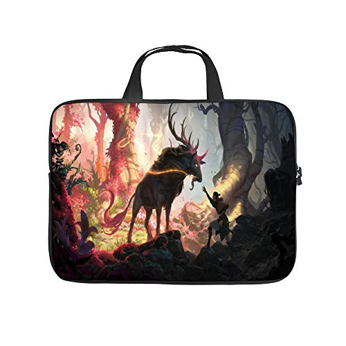 Universal Laptop Computer Tablet,Bag,Cover for,Apple/MacBook/HP/Acer/Asus/Dell/Lenovo/Samsung,Laptop Sleeve,Fans for L-O-L Legends of Runeterra Herald of Spring,15inch