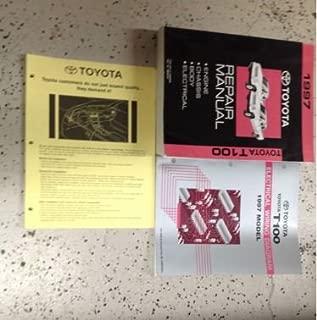1997 Toyota T100 Truck Service Shop Repair Manual OEM