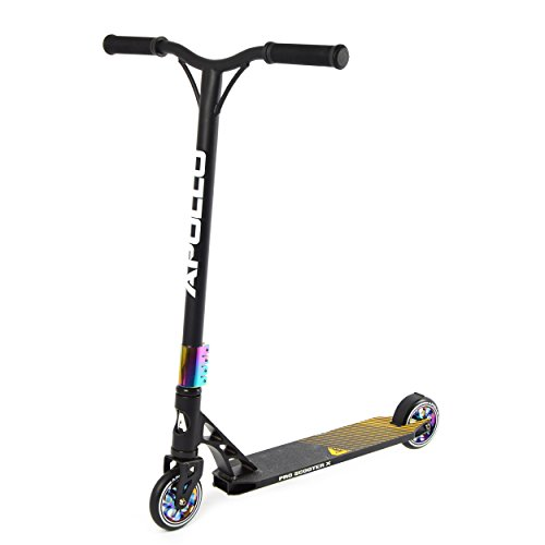 Apollo Stunt Scooter - Genesis Pro X - High End Profi Stuntscooter, ABEC 9 Kugellager, 110mm PU Wheels mit Alu Core, Funscooter, Tretroller, Stuntroller, Roller