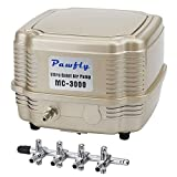 Pawfly 7 W 254 GPH Commercial Air Pump 4 Outlets Manifold Quiet Oxygen