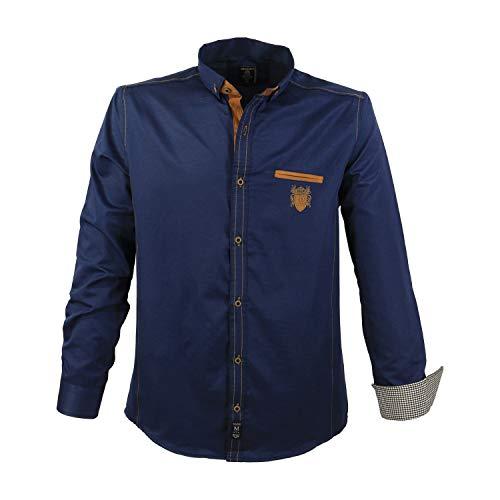 Lavecchia Herrenhemd 1128NB (3XL), Navyblue