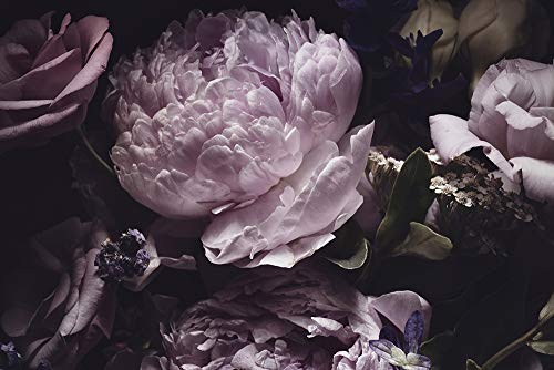 DesFoli Blumenstrauß Blüten Poster Kunstdruck Fotoposter P2252 Größe 30 cm x 20 cm