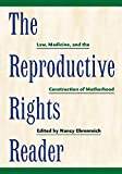 The Reproductive Rights Reader: Law, Medicine, and the Construction of Motherhood (Critical America, 23)