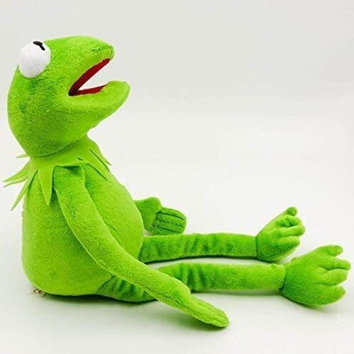 Pluchen speelgoed 1pc 40cm Kermit Knuffels Sesamstraat Frogs Doll knuffeldier Kermit de Kikker Toy Drop Shipping For Kids dljyy