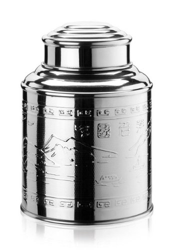 Wollenhaupt 46944 Teedose aus Edelstahl, 300 g