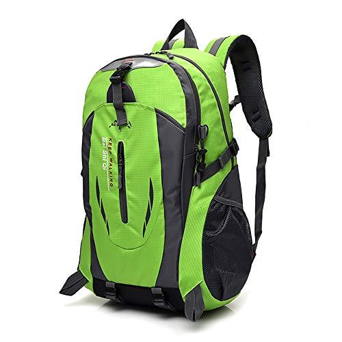 LILINSS Mochila De Viaje Al Aire Libre, Mochila De Montañismo Resistente Al Desgaste Multifuncional De Gran Capacidad para Hombres (36-55L),Green