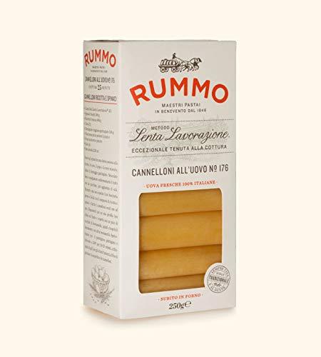 Rummo - Cannelloni all'uovo n.176 Bronze Gezeichnete - 12 Packungen mit 250 g