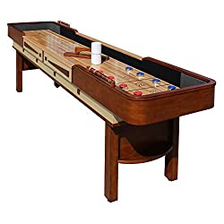 HATHAWAY Merlot 12-foot Shuffleboard Table
