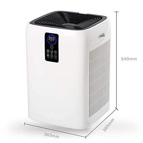 Zhaoronghua Luftreiniger, Ionisator Und Rauchverzehrer Mit 6-Stufen-Filterung Und Intelligentem Odor Sensor System Für Optimale Luft Im Schlafzimmer, Kinderzimmer Und Büro,Weiß
