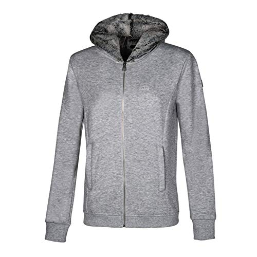 Equiline Jacke KIA Hoodie Sweatshirt | Farbe: Grey Melange | Größe: XS